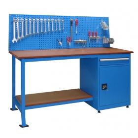 1 Çekmece ve Dolaplı Panolu Çalışma Tezgah, Masası KCM03195