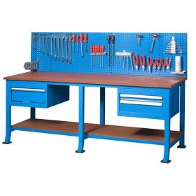 2+1 Çekmeceli Panolu Çalışma Tezgah, Masası KCM3205