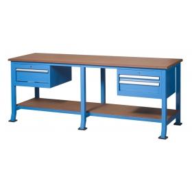 2+1 Çekmeceli Alt Tablalı Çalışma Tezgahı, Masası KCM03215