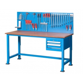 2 Çekmeceli Panolu Alt Tablasız Çalışma Tezgah, Masası KCM03315