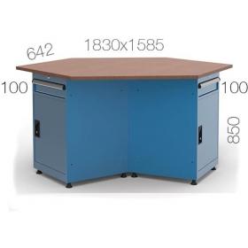 Çokgen Çalışma Masası KCM03820