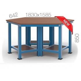 Çokgen Çalışma Masası KCM03825