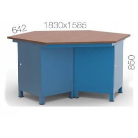 Çokgen Çalışma Masası KCM03830