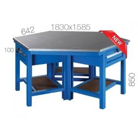 Çokgen Çalışma Masası KCM03845