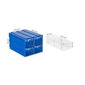Plastik Çekmeceli Kutular 144