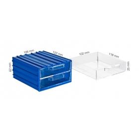 Plastik Çekmeceli Kutular 301