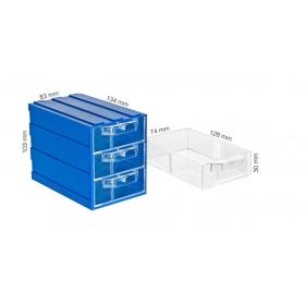 Plastik Çekmeceli Kutular 133