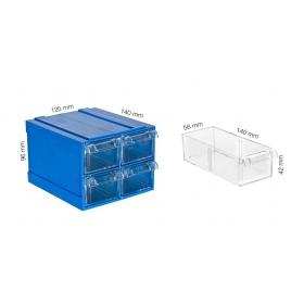 Plastik Çekmeceli Kutular 325